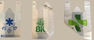 Sacose polietilena biodegradabila