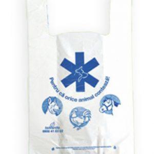 Sacose polietilena natur farmacie veterinara